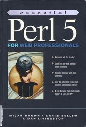 Essential Perl 5 for Web Professionals